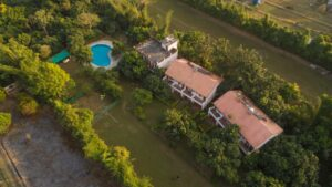 Serenity Resort Bird Eye View