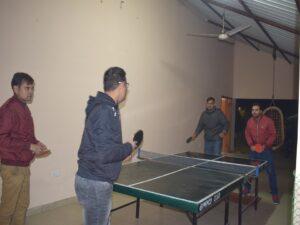 Table Tennis at Serenity